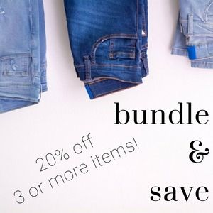 20% OFF 3+ BUNDLES! LIMITED TIME ONLY! DONT WAIT!